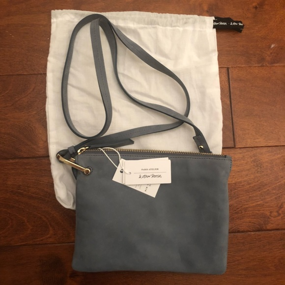 e0032e35241 NWT & other Stories suede D-ring crossbody NWT